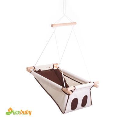BETO hojdačka pre bábätká BASIC – Sweet Chocolate – prírodná hnedá
